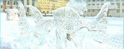 рыбки изо льда