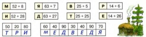 Урок 7 Сложение двузначных чисел 6