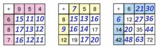 Урок 7 Сложение двузначных чисел 9
