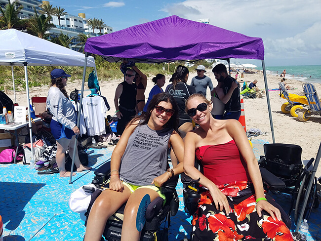 How I Vacation as a C6 Quadriplegic  Wheelchair