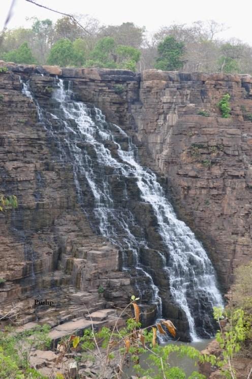 Tirathgarh Fall in Summer