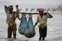 Fishermen at Sankarpur