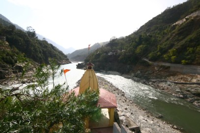 Rudraprayag - confluence of Alakananda and Mandakini
