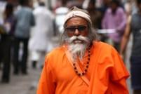 The sadhus of Rishikesh