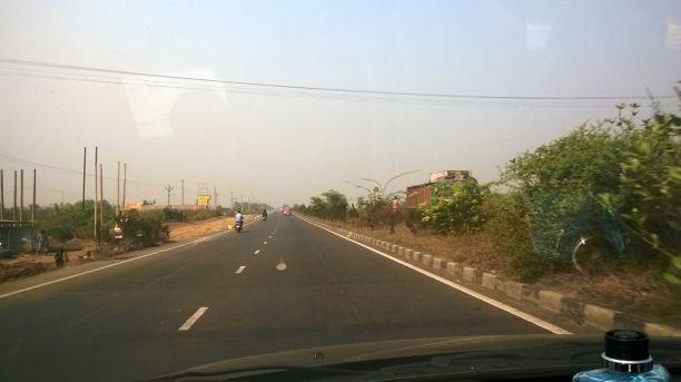The world class Durgapur Expressway