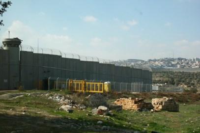 Border of Israel and Palestine