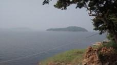 The catchment area of the Maithon Dam