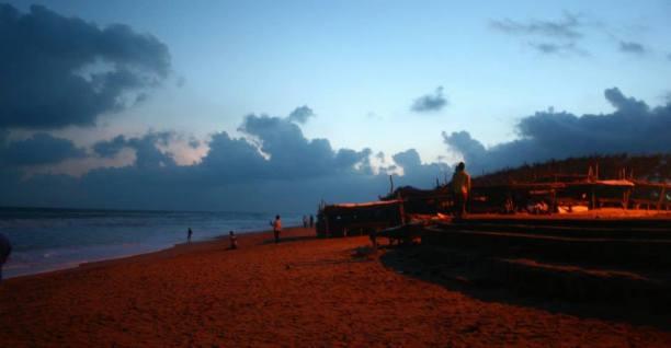 Sunset at Chandrabhaga beach