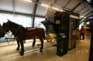 A horse drawn carriage - in the London Transport Museum