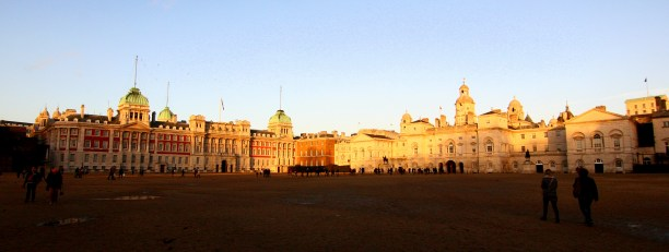 The House Guards Parade building