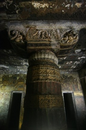 Another richly decorated column