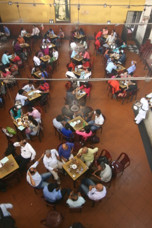 Adda sessions inside Coffee House