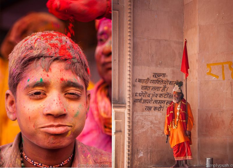 Holi Celebration Pics India Best Travel Photographer Pushpendragautam