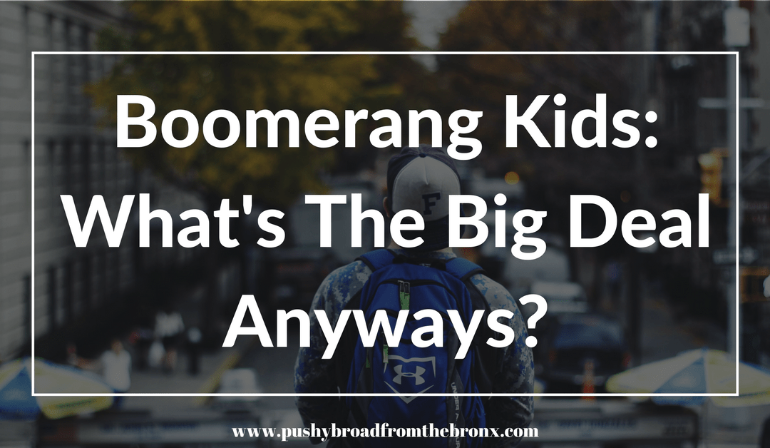 Boomerang Kids: Moochers or Normal?