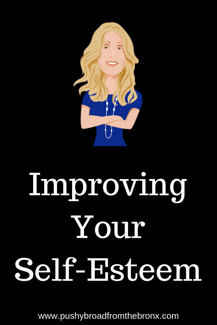 Everyone knows self-esteem is how you think about yourself. But for many of us, that doesn't come with good thoughts. Are you lacking in self-esteem? Let's talk about that. #selfesteem #personalgrowth #lifecoach #pushybroadfromthebronx #podcast