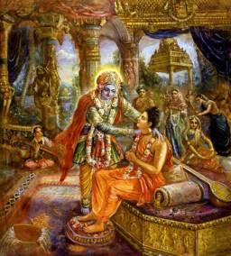 [K18] Krishna greets Narad