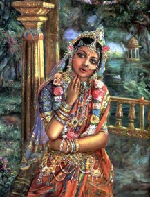 [K37] Rukmini in anxiety waiting for Krishna