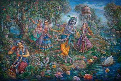 [K39] Gopis dance in ecstacy on the banks of the Yamuna