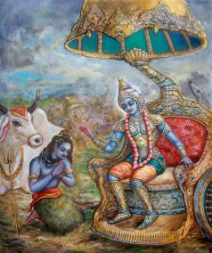 [K62] Shiva offers prayers to Krishna