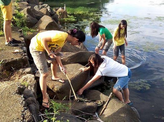 Lingkod Lasalyano Lakershore Clean Up