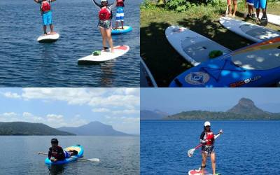 Book your SUP tours with Tono