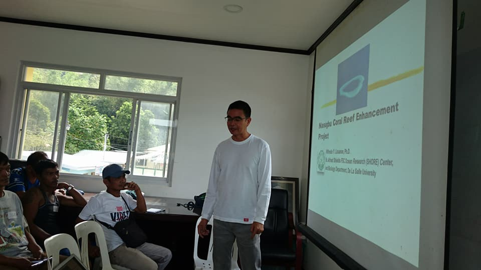 Learning Course on Coral Reef Restoration and Construction of Artificial Habitat