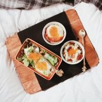 Orkaitėje kepti kiaušiniai –3 variacijos