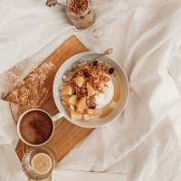 Apelsininė granola su cinamonu