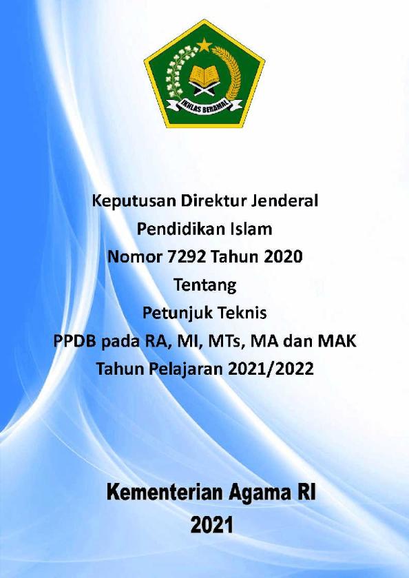 Juknis Emis 2019 : juknis, Juknis, Kelembagaan, Madrasah, Pustaka, Digital, Pendidikan, Islam