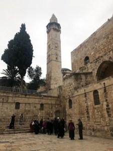 Kudüs'ün en önemli camilerinden biri Hz.Ömer camisi