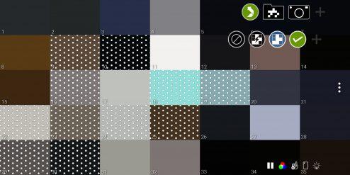 selected pixels