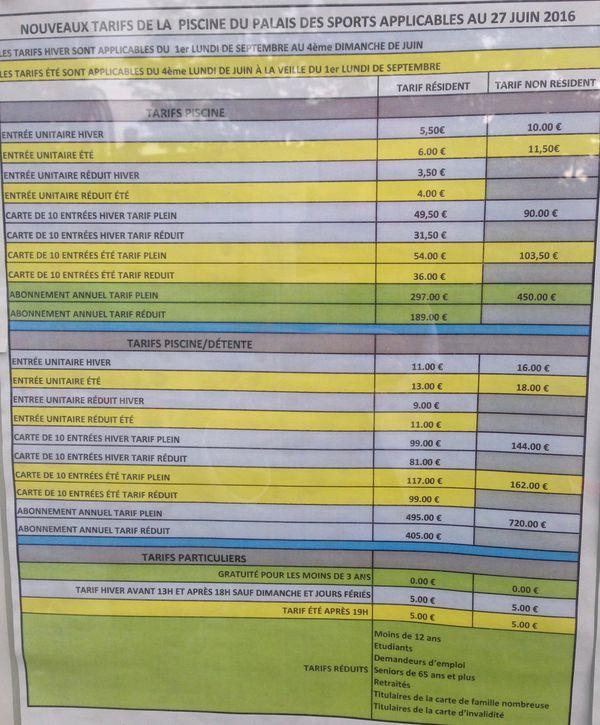 Forte hausse des tarifs de la piscine de Puteaux  35   MonPuteauxcom