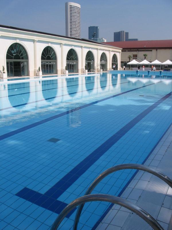 Couverture du bassin extrieur de la piscine de Puteaux  MonPuteauxcom