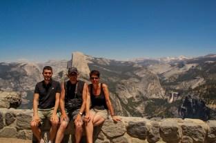 La vue à Glacier Point