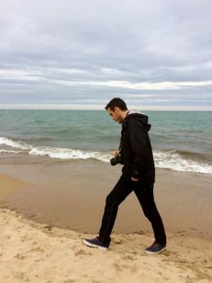 Montrose beach, à 10 min à pied de l'appartement
