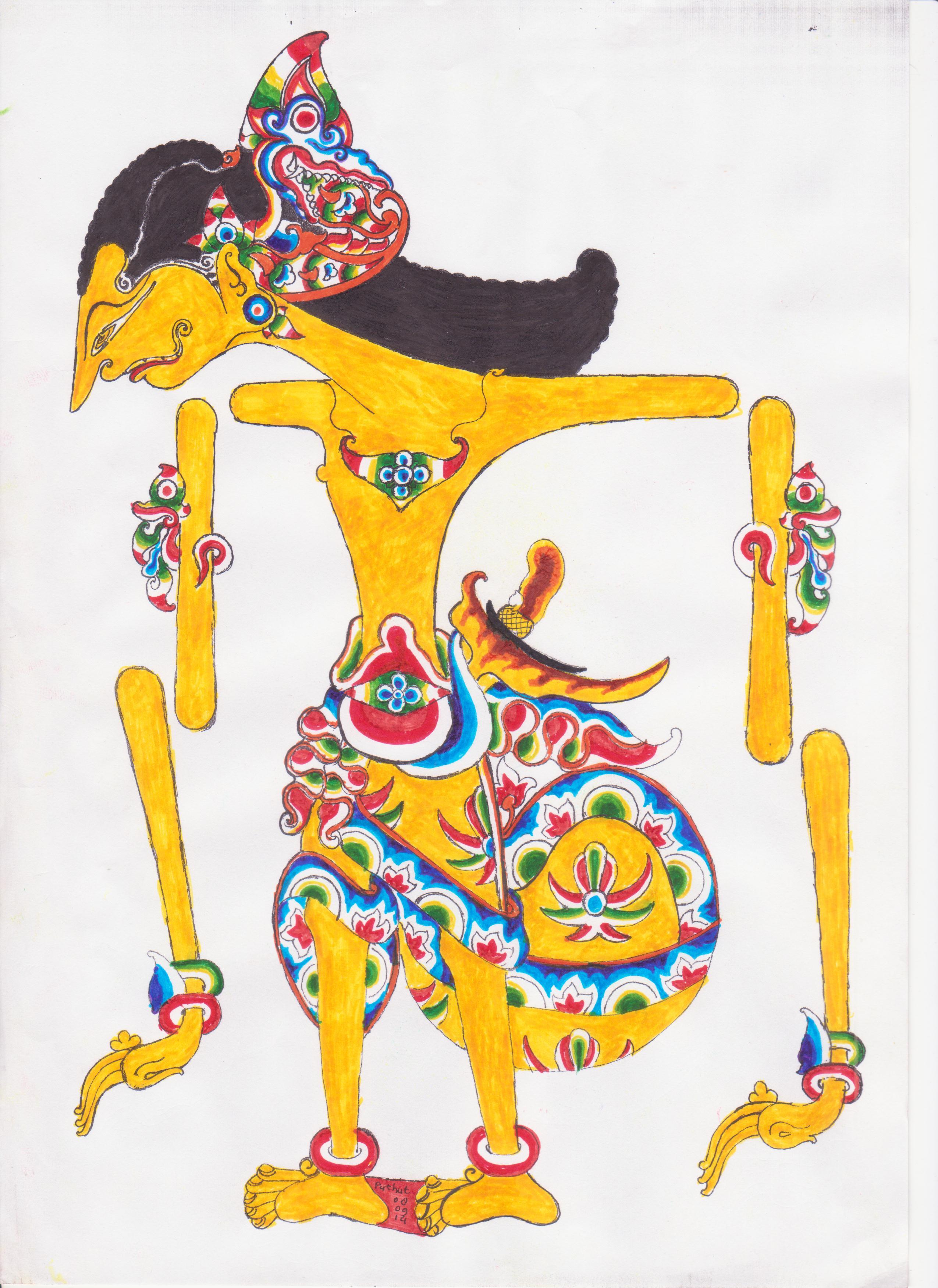 Cara Membuat Wayang Dari Kardus : membuat, wayang, kardus, Belajar, Membuat, Wayang, Classical, Javanese, Gamelan,, Shadow, Puppet,, Dance