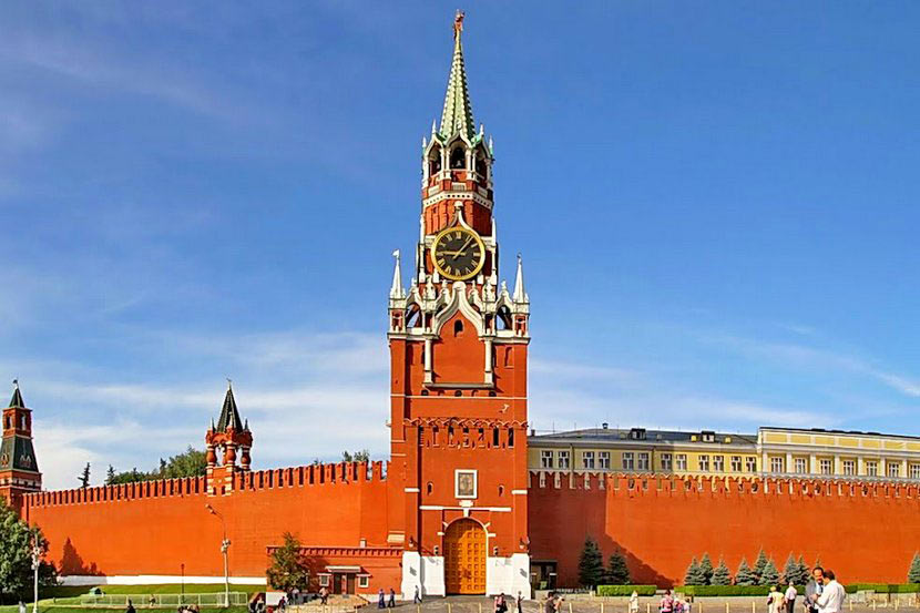 Фото спасской башни на красной площади