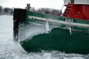Ice Tug bow