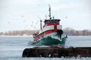 Ice Tug Put in Bay