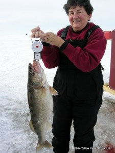 Walleye Catch