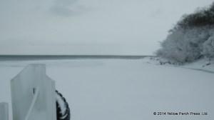 Lime Kiln Dock snow