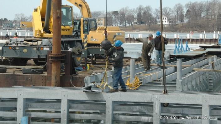 Put in Bay dock work
