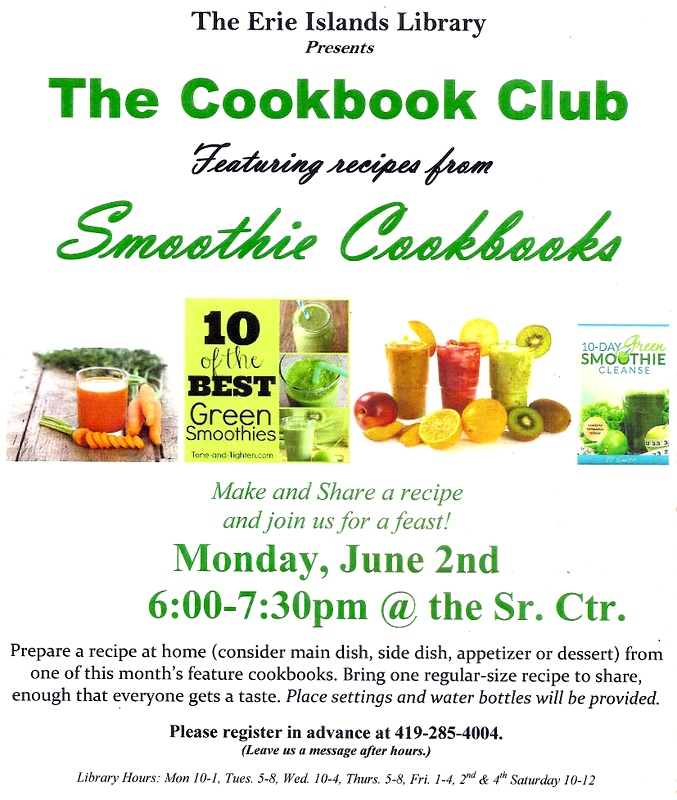 Put in Bay Cookbook Club