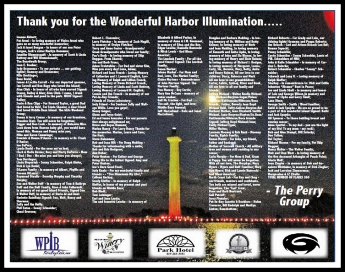 PiB Harbor Illumination Thanks