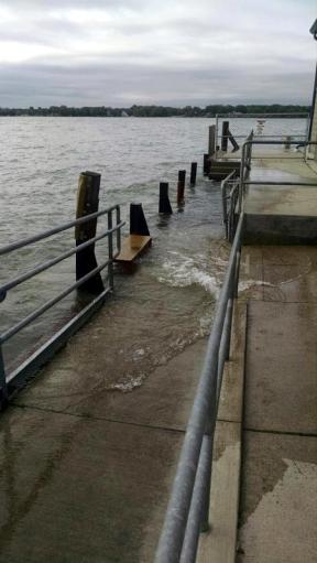 Middle Bass Island dock