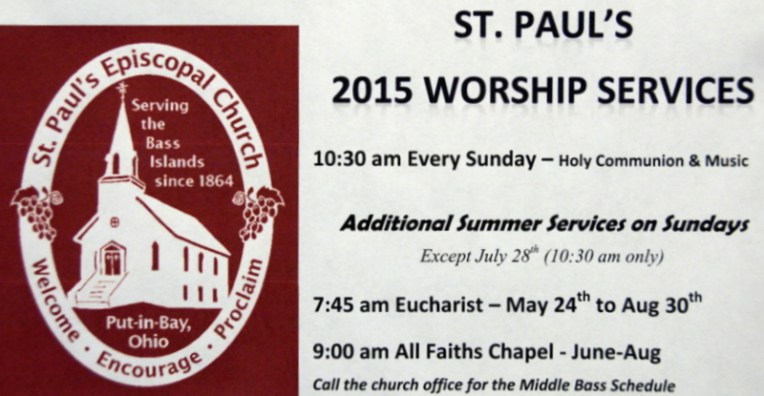 St Paul's Put in Bay