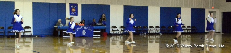Cheerleaders at Put in Bay