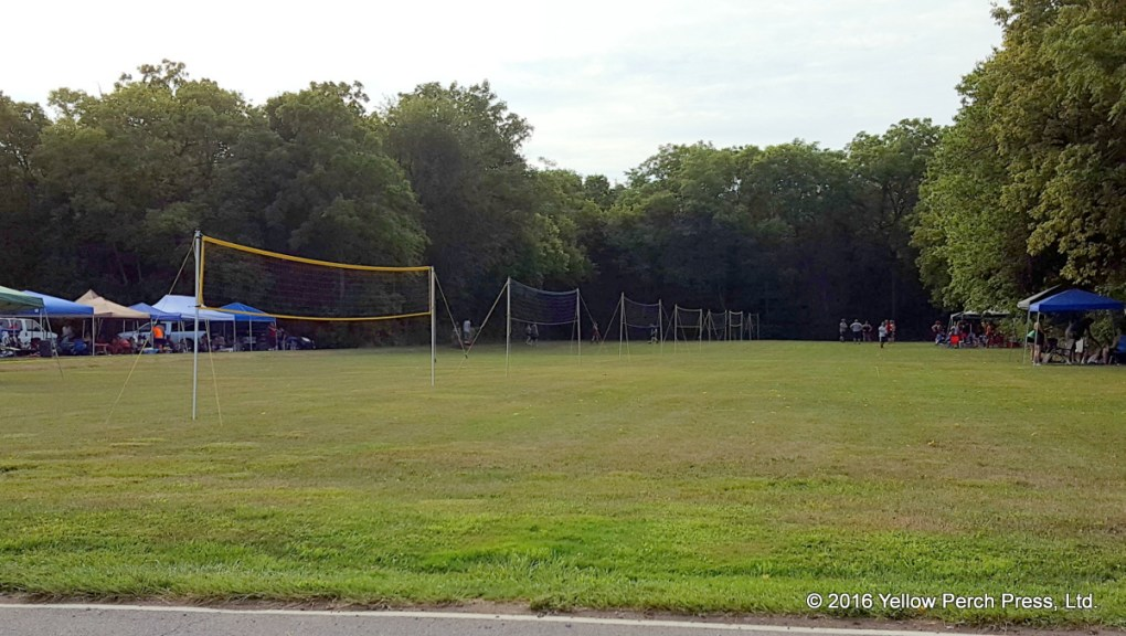 vollleyball at Put in Bay