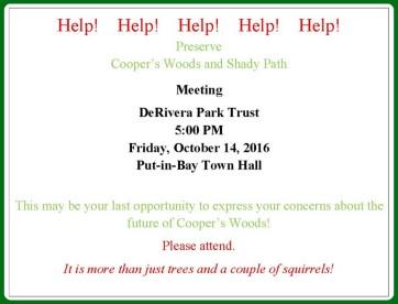 Cooper's Woods