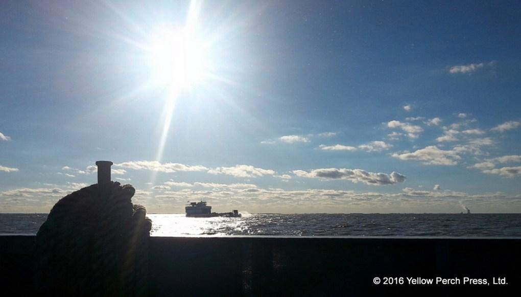 Miller Ferry on Lake Erie